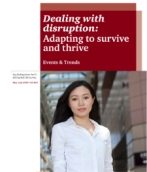 Events & Trends No. 264<br/>Dealing with disruption: adapting to survive and thrive
